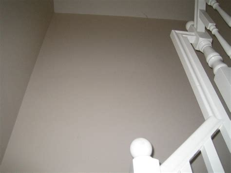 decorate hall stairs landing paint paper painting