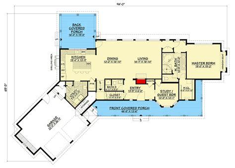 plan jj modern farmhouse  angled garage  bonus room  craftsman style house