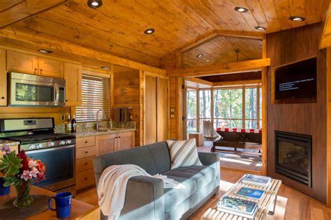 charming tiny cabin vacation home idesignarch interior design architecture interior
