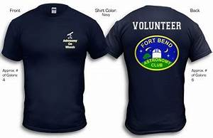 Fort Bend Astronomy Club - T-Shirts