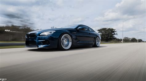 Tanzanite Blue Metallic Bmw M6 Upgraded With Adv1 Wheels