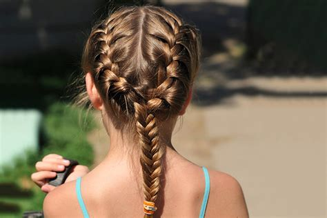 9 Quick And Easy Hairstyles For Kids With Long Hair