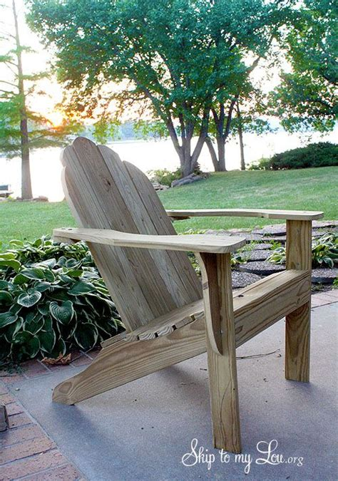 adirondack chair plans templates free woodworking