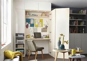 Aménager Un Placard : coin bureau nos id es pour am nager un petit bureau la ~ Melissatoandfro.com Idées de Décoration