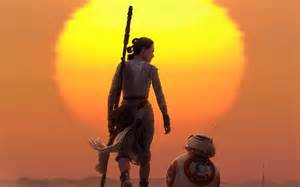 BB8 and Rey Star Wars
