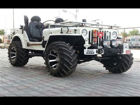 indian jeep modified indian offroads 4x4 custom modified jeeps mahindra classic