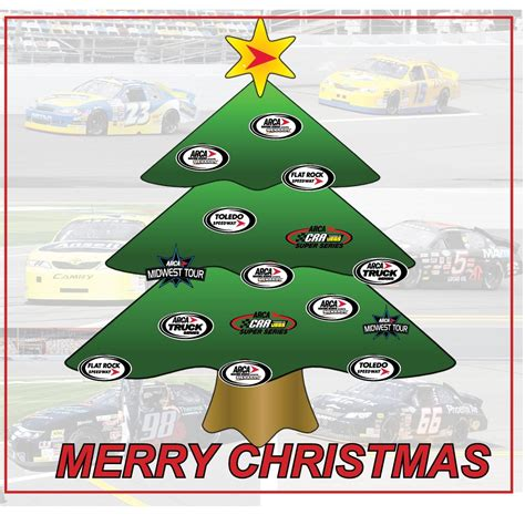 merry christmas from everyone at arca arca racing