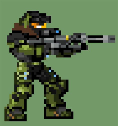 Halo Jun In Pixels Yay Halo Stuff Pinterest Halo