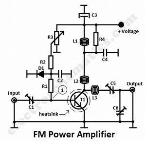 1 watt fm amplifier circuit circuit diagram world With 4w fm transmitter