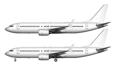 air livery templates illustrator boeing 737 max 8 blank illustration templates norebbo