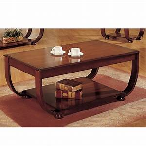 accent curved decor wood coffee cocktail table dark cherry With cherry coffee table with storage