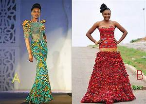 Modern African Print Wedding Dresses | www.pixshark.com ...