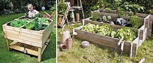 Construire Potager Surélevé : fabriquer un potager sur lev et cultiver hors sol ~ Melissatoandfro.com Idées de Décoration