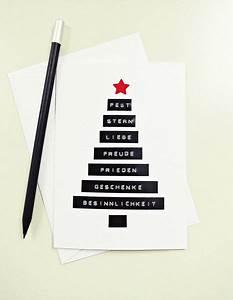 Edle Weihnachtskarten Basteln : weihnachtskarte bilder19 ~ A.2002-acura-tl-radio.info Haus und Dekorationen