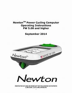 Ibike User Guide For Newton 5