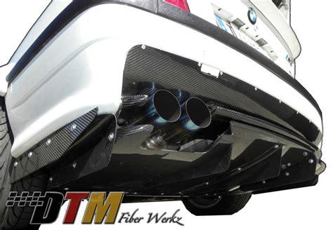 rear diffuser for bmw e36 by dtm fiber werkz
