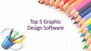 5 Graphic Design Software