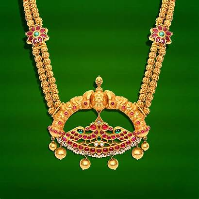 Grt Jewellery Antique Designs Gold Haram Temple