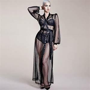 deshabille dita von teese the lamarr robe noir glamuse With dita von teese robe
