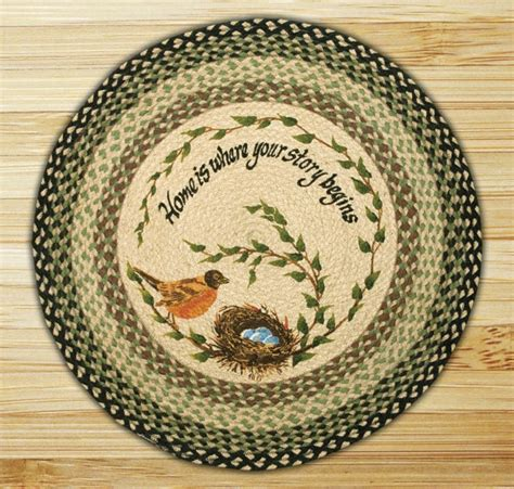 capitol earth rugs robin s nest braided jute rug by capitol earth rugs