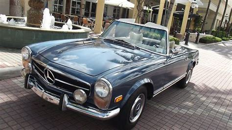 Driving this 450sel is an absolute pleasure. Find used 1970 Mercedes 280 SL. Blue Metallic with Original MB white interior. Superb car! in ...