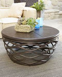 Industrial renaissance outdoor coffee table for Unusual outdoor coffee tables