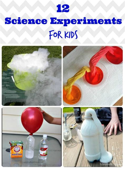 collection  science experiments  kids