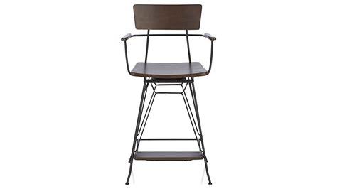 elston swivel bar stool crate and barrel