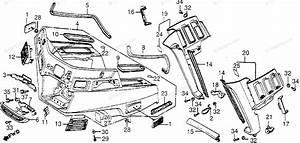 Honda Motorcycle 1985 Oem Parts Diagram For Fairing