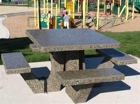 precast concrete picnic tables what do you mean concrete products sanderson concrete