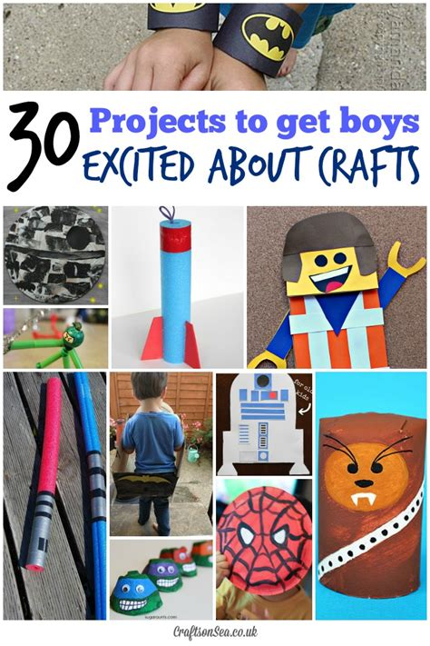 and crafts ideas for boys 30 cool craft ideas for boys crafts on sea