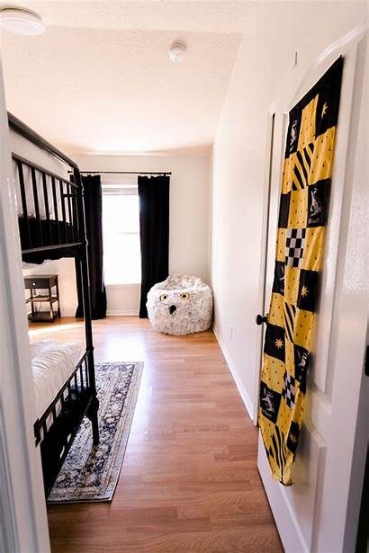 Inspired Hufflepuff Bedroom Bedrooms Abeautifulmess Rooms Puff