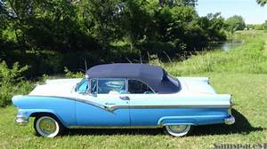 1956 Ford Fairlane Sunliner Convertible 292 V8 - Power Steering  U0026 Power Top For Sale