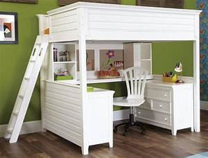 twin, over, full, bunk, bed, with, desk, for, girls, , u2014, home, furniture, ideas