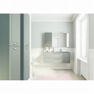 mobilier de salle de bain suspendu aux lignes With mobilier salle bain
