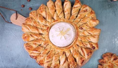 la tarte soleil au camembert roti  delice pour vos