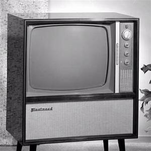 A big screen TV 1960's style--black and white of course