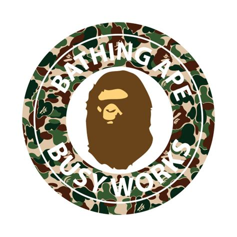 Bathing ape Logos