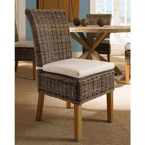 kubu dining chair cushion boca dining chair white cushion gray kubu rattan wicker