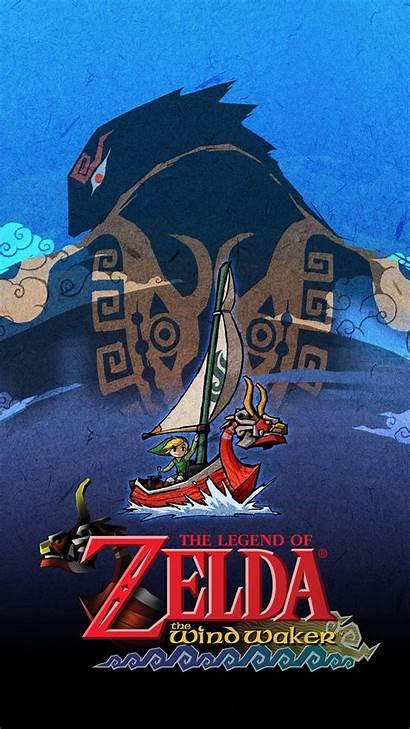 Zelda Waker Wind Legend Phone Cell Wallpapers
