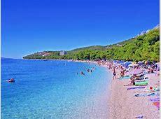 Beaches Makarska Rivijera Strandhaus Dalmatien