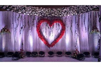 Stage Decoration Simple Reception Church Balloons Engagement