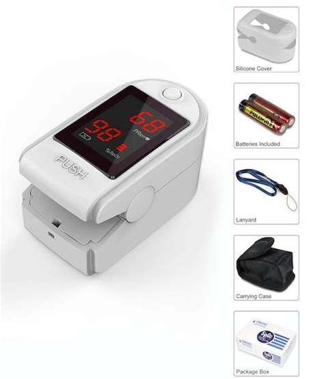 Concord Sapphire Fingertip Pulse Oximeter Review