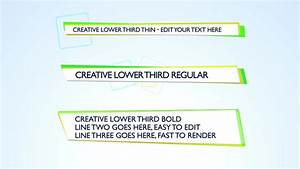 final cut pro lower thirds templates - creative lower third apple motion template royalty