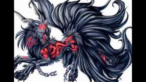 Dark Anime Wolf Tribute