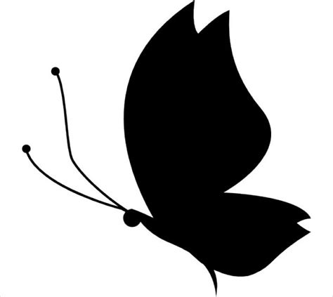 butterfly silhouette designs vector eps format