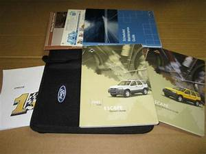 2003 Ford Escape Owners Manual  Oem  J4029