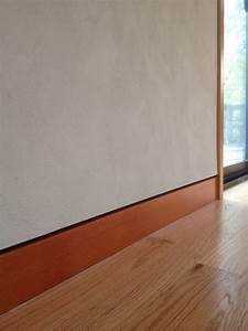 Plaster With Flush Baseboard Contemporary Other By