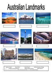 australian landmarks geography  kids geography