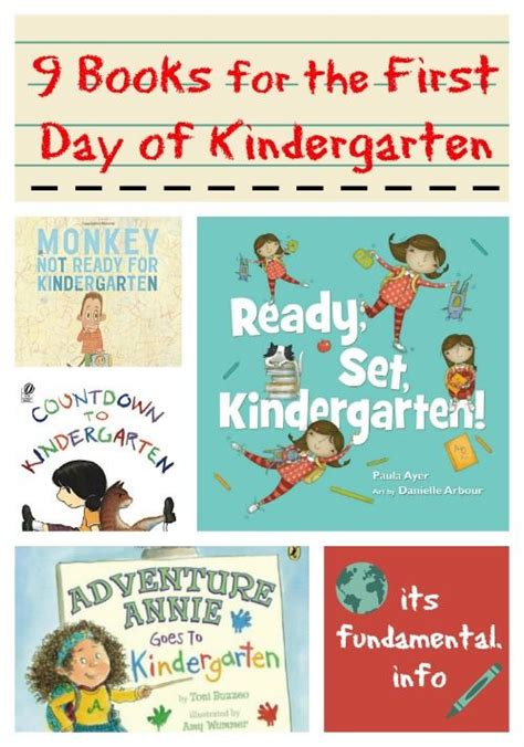 9 books for the day of kindergarten day of 521 | 94955a6b21d614f7bb154bc6c219b110